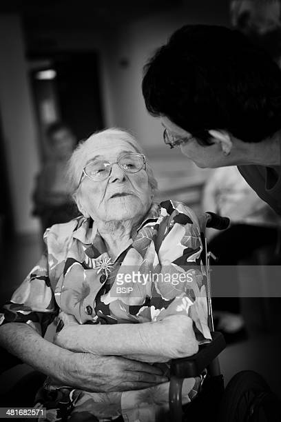 Please contact us before using for any commercial purposes Odette Ambulher was born on the 17th September 1901 She is celebrating her 111th birthday...