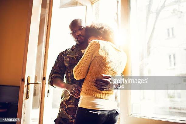 please love stay with me, don't go to war! - military spouse stock pictures, royalty-free photos & images