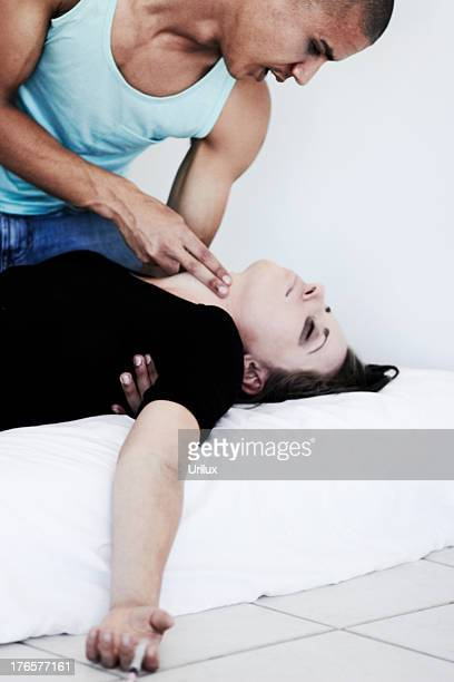 please... please wake up! - drug overdose stock photos and pictures