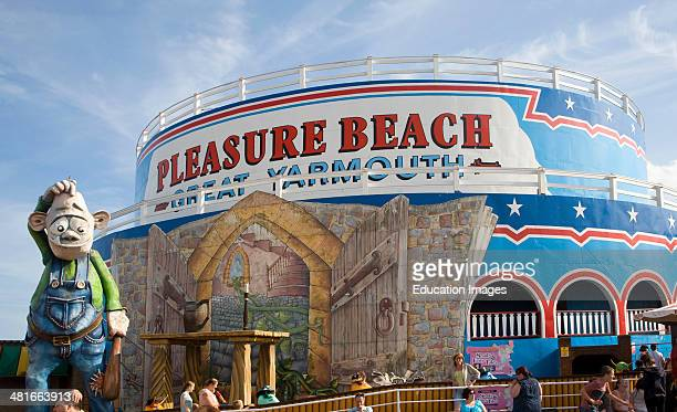 Pleasure Beach funfair Great Yarmouth Norfolk England