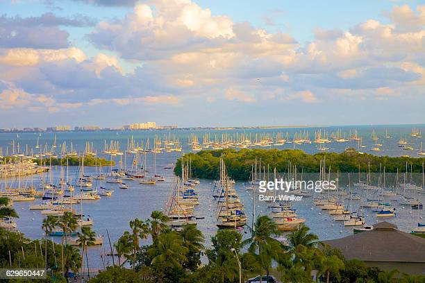 Pleasure boats, Biscayne Bay, Coconut Grove, FL