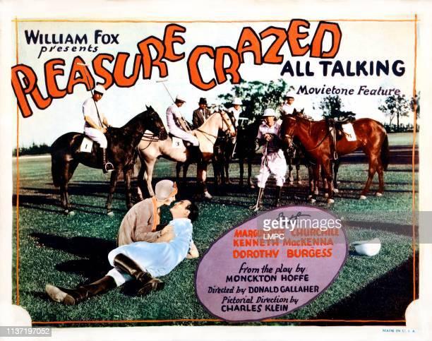 Pleasure Crazed poster US poster front from left Marguerite Churchill Kenneth MacKenna 1929