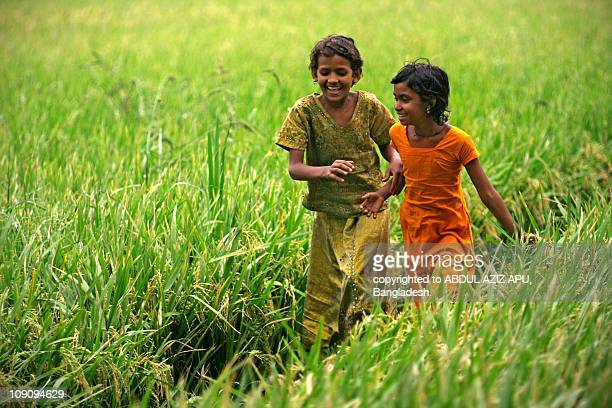 pleasure... - bangladesh village stock photos and pictures