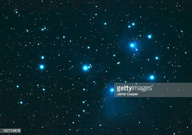 Pleiades by Jamie Cooper Plieades open star cluster