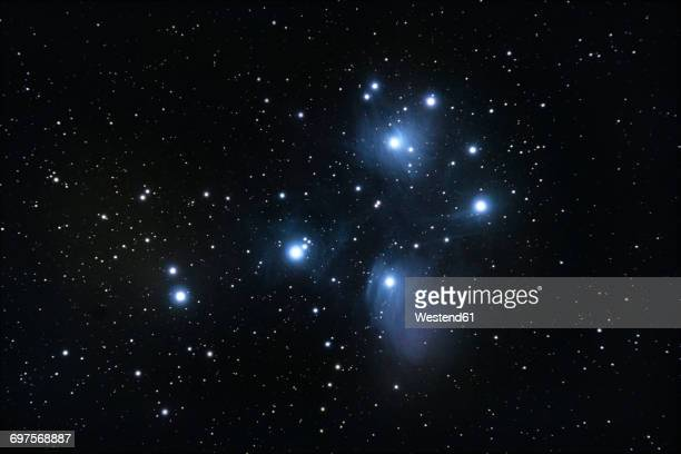 M45 pleiades open star cluster