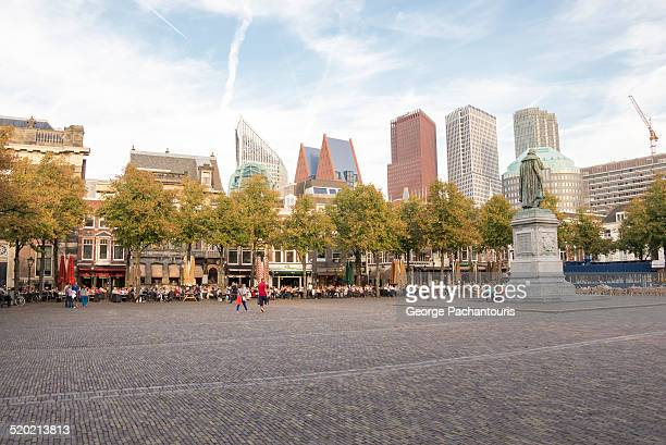 plein squae, the hague - the hague stock pictures, royalty-free photos & images