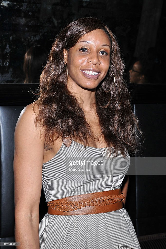 Plenette Pierson of the New York Liberty attends the 4Season Style Management 1 Year Anniversary Celebration at Gansevoort Hotel Park Avenue on September 7, 2011 in New York City.