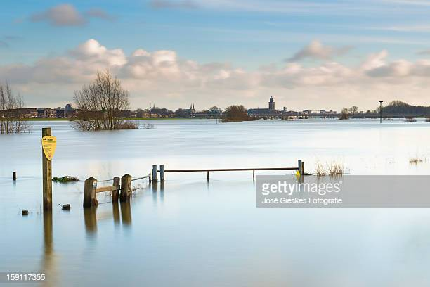plenty of water - deventer stock photos and pictures