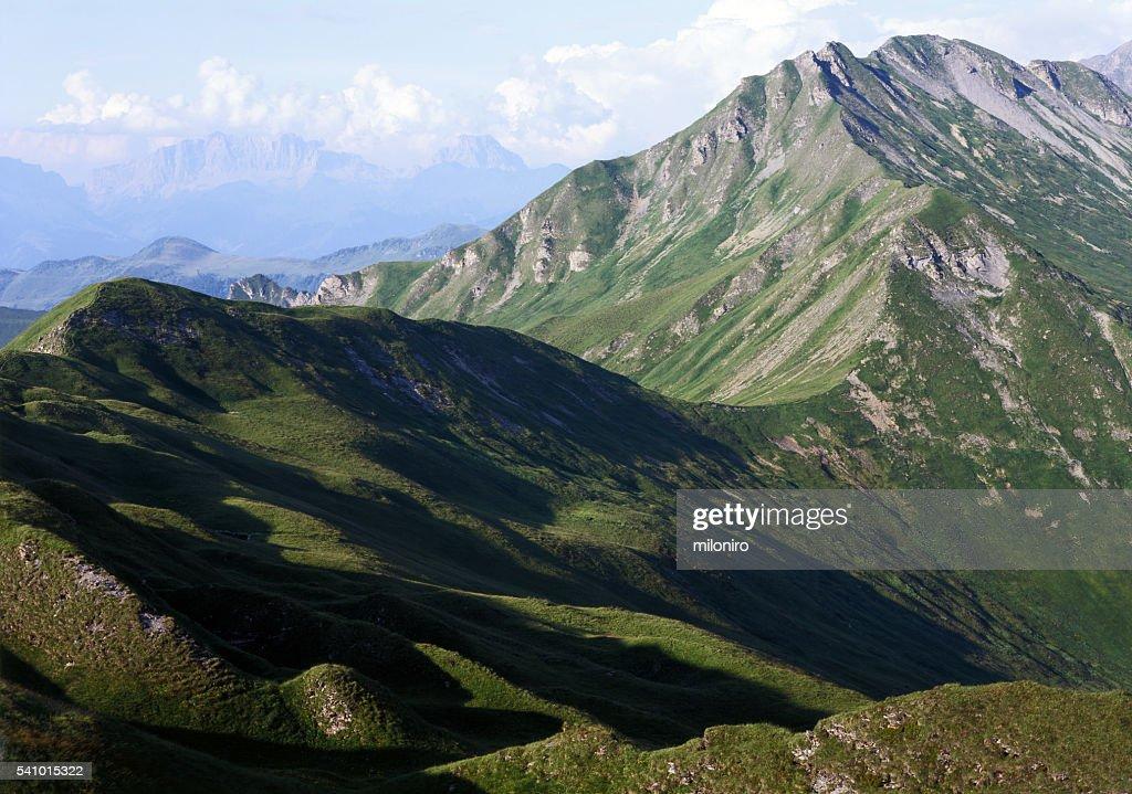 Plessur Alps : Foto de stock