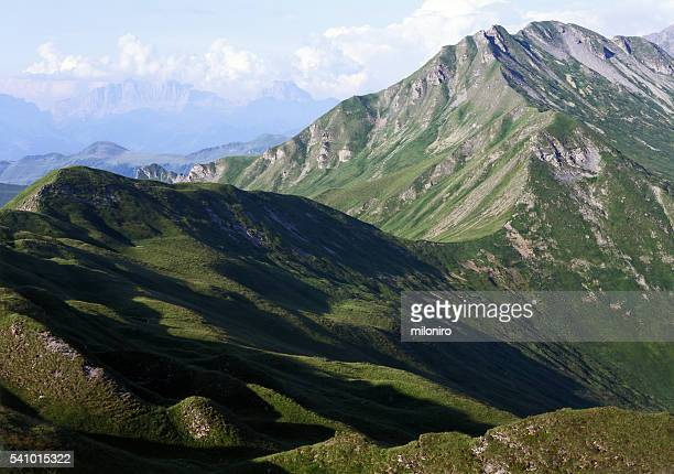 plessur alps - miloniro stock pictures, royalty-free photos & images