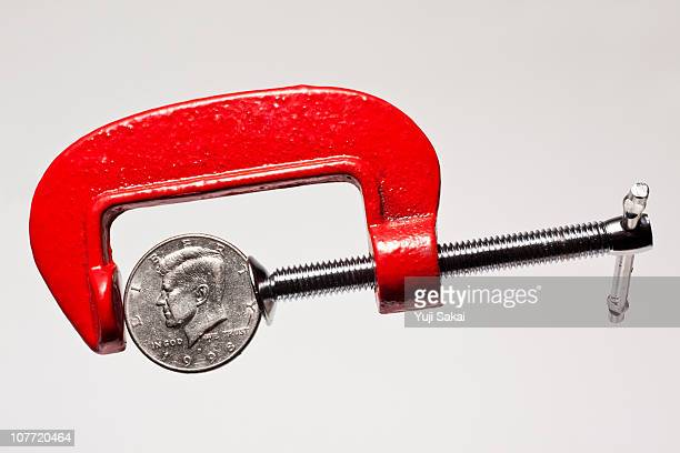 pliers and coins