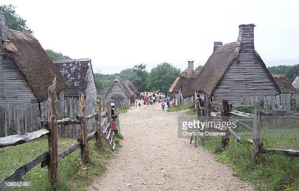 Plimoth Plantation in Plymouth Massachusetts is a scaleddown replica of Plymouth Colony circa 1627