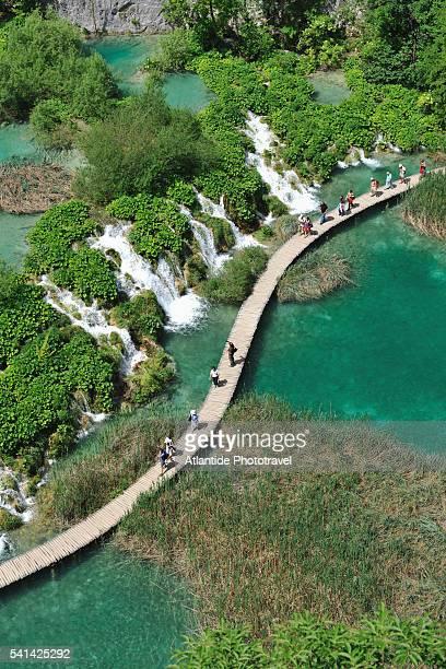 Plitvice lakes National Park, Velike Kaskade