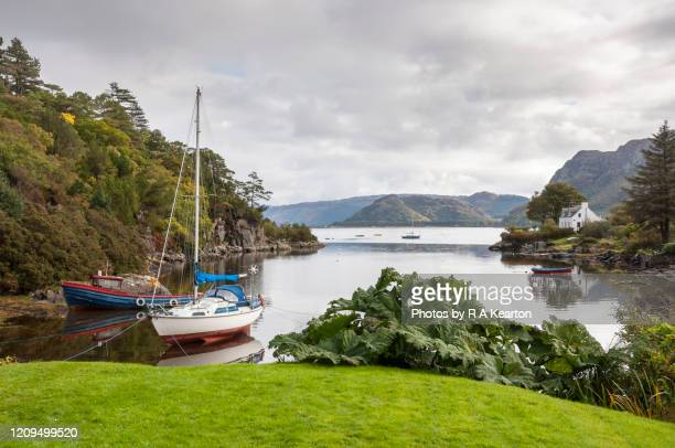 plockton, lochalsh, scotland - wester ross stock pictures, royalty-free photos & images