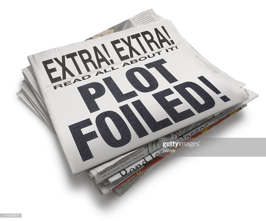 Plot Foiled! : Stock Photo