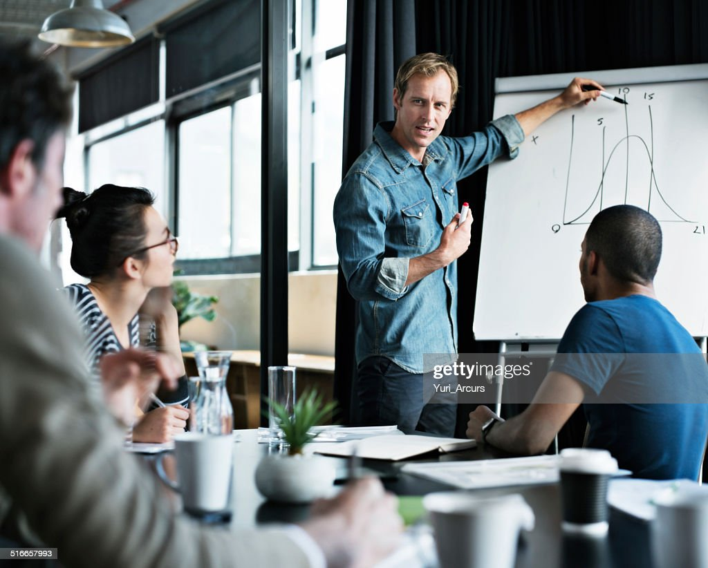Plotting the course to success : Stock Photo