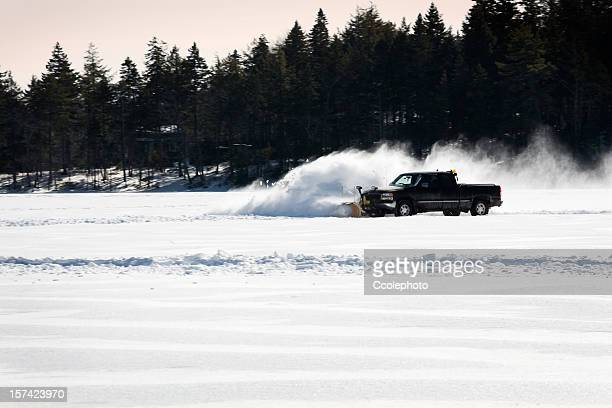 plow. - snowplow stock pictures, royalty-free photos & images