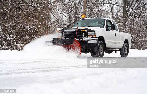 plowing the road - absence stock pictures, royalty-free photos & images