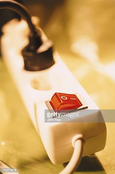 Plug box, close-up