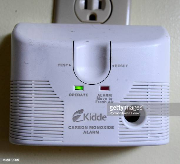 Plug in carbon monoxide detector used at Kendall Tavern Inn in Freeport Tuesday February 25 2014