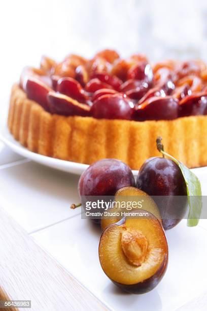 Plum cake, home made