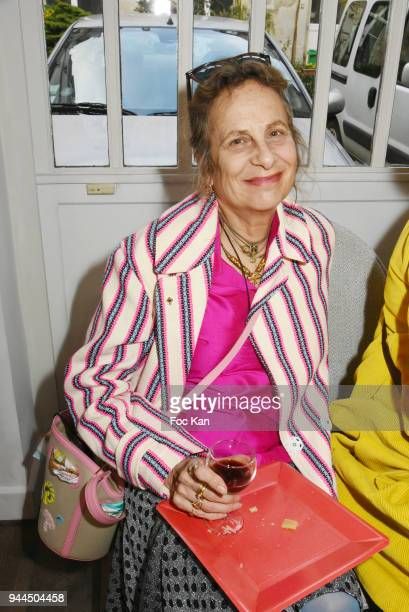 Plum Le Tan attend the 'Bel RP' 10th Anniversary at Atelier Sevigne on April 10 2018 in Paris France