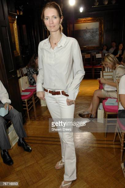 Plum Sykes attends Ruffian Spring 2007 during Mercedes-Benz Fashion Week at National Arts Club on September 8, 2007 in New York City.