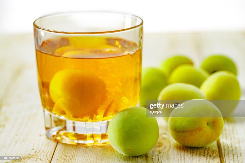 plum wine : Stock Photo
