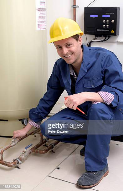 Plumber with heating system