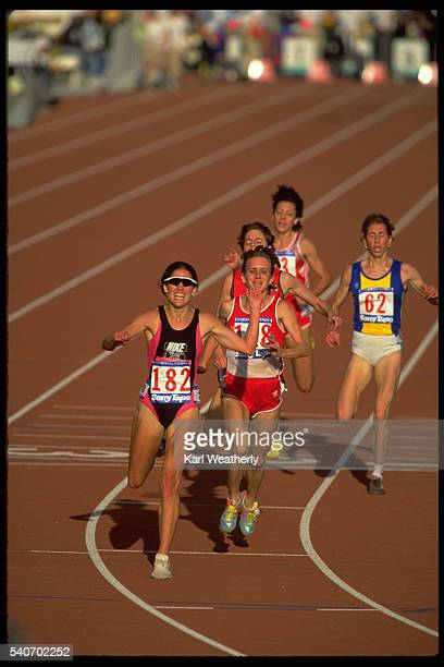 Plummer's Victorious 800 Meter Run at the 1990 Goodwill Games