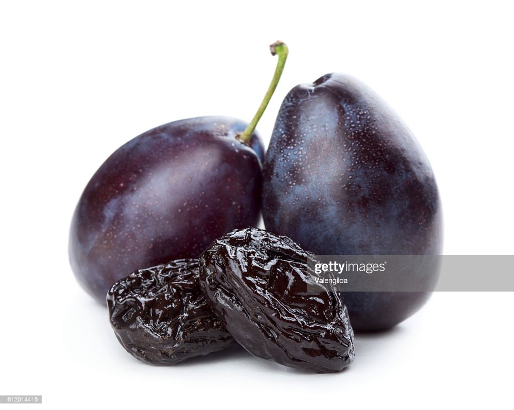 Plums and prunes : Stock Photo