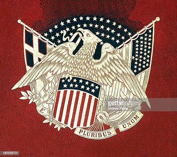 e pluribus unum - coat of arms stock pictures, royalty-free photos & images