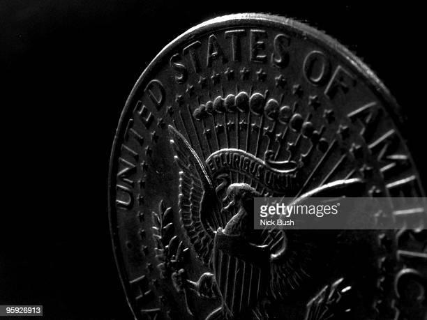 e pluribus unum - us coin stock pictures, royalty-free photos & images