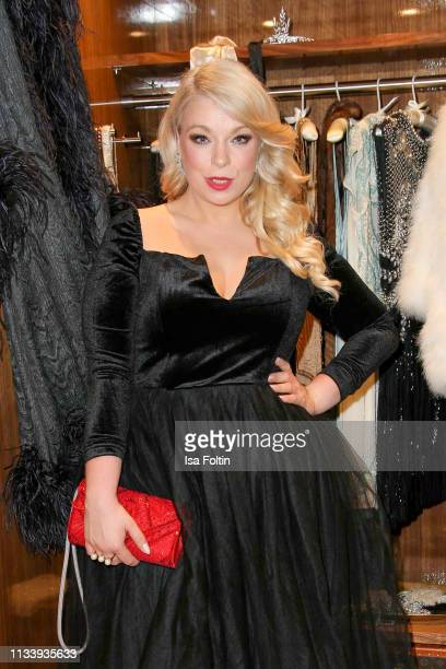 Plus size model and presenter Caterina Pogorzelski during the Ritz Carlton Berlin ReOpening Party at Ritz Carlton on March 5 2019 in Berlin Germany