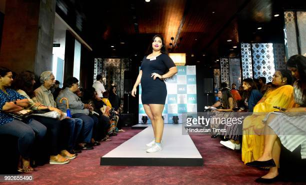 Plus size models participated in Lakme Fashion Week Winter/Festive 2018 audition for size plus segment at St Regis Worli on July 5 2018 in Mumbai...