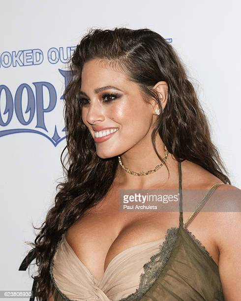 PlusSize Model Ashley Graham attends the Smoked Out Roast of Snoop Dogg at Avalon Hollywood on November 16 2016 in Los Angeles California