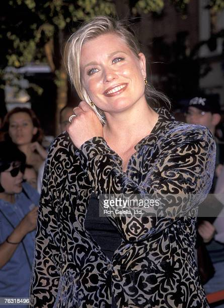 Plussize Model Emme attends the New York City Screening of the HBO Original Movie Introducing Dorothy Dandridge on August 3 1999 at Chelsea West...