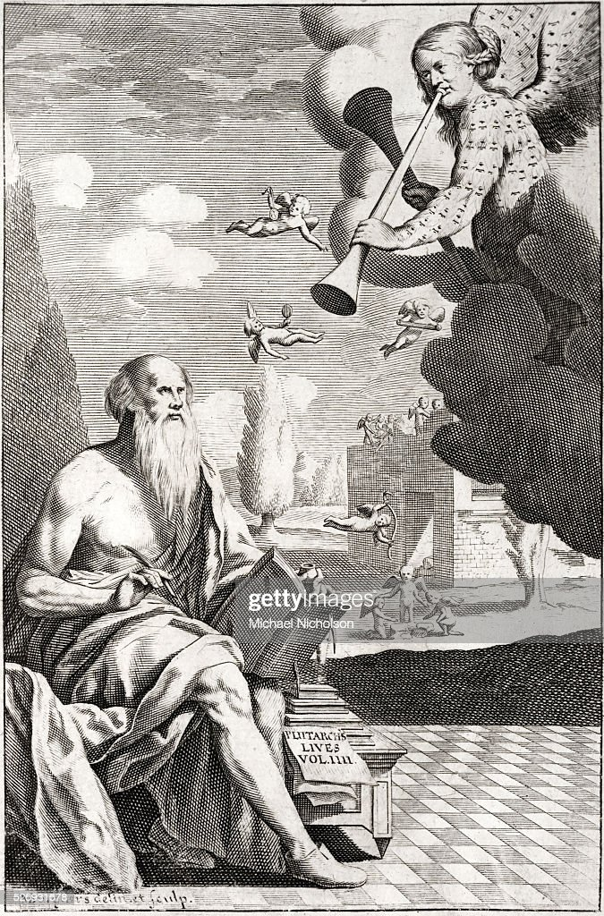 Plutarch, born Plutarchos, then named, on his becoming a ...