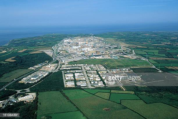 Plutonium Factory In La Hague Normandy, France.