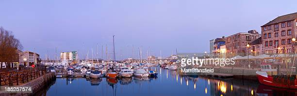 plymouth barbican - plymouth stock photos and pictures