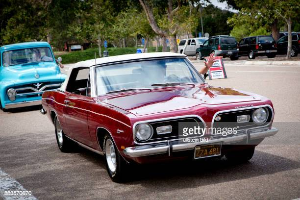 1968 Plymouth Barracuda At The All American Car Show In Cardiff