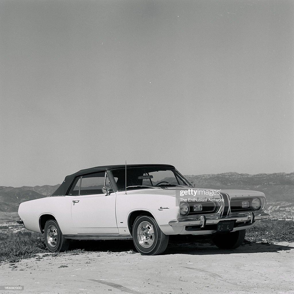 Plymouth Barracuda Road Test  A Plymouth Barracuda