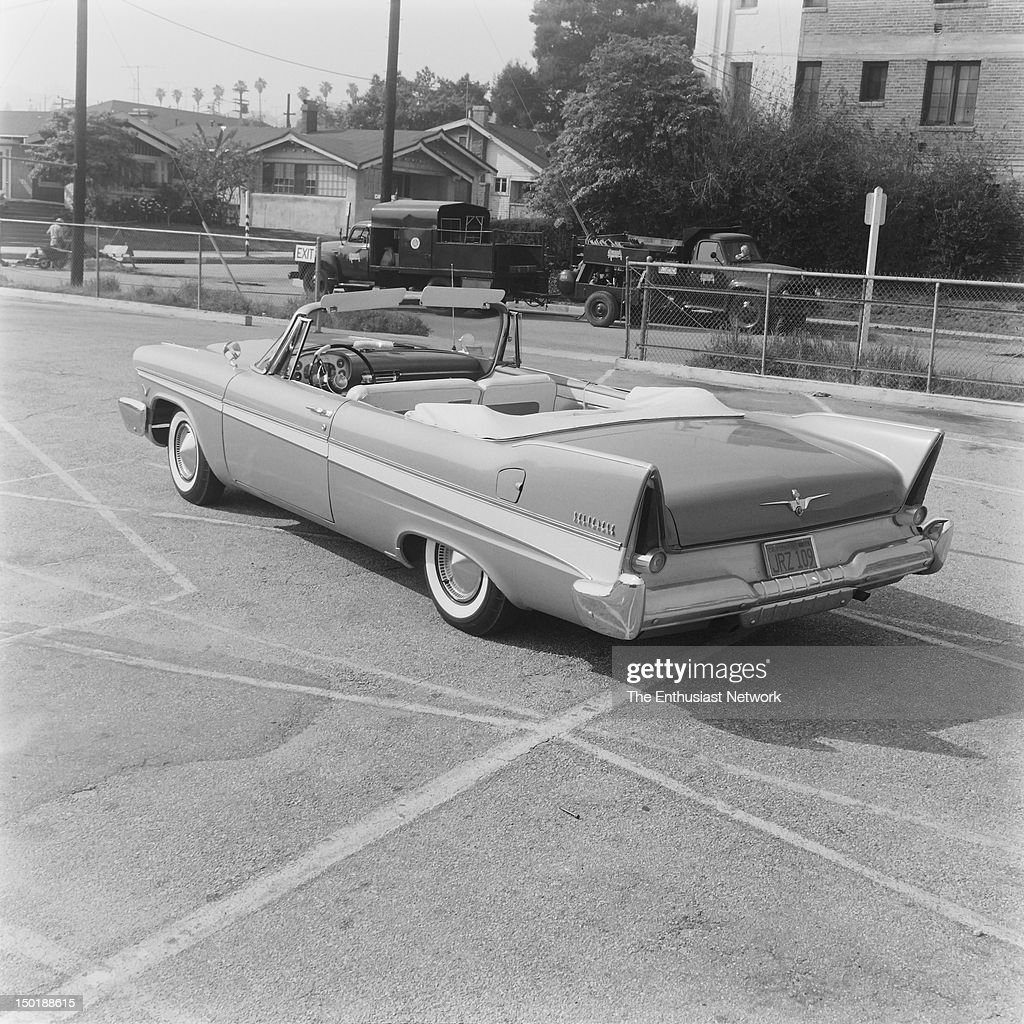 1957 Plymouth Belvedere Convertible : News Photo