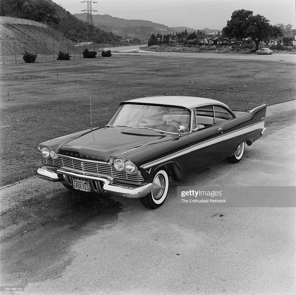 1957 Plymouth Belvedere Road Test : News Photo