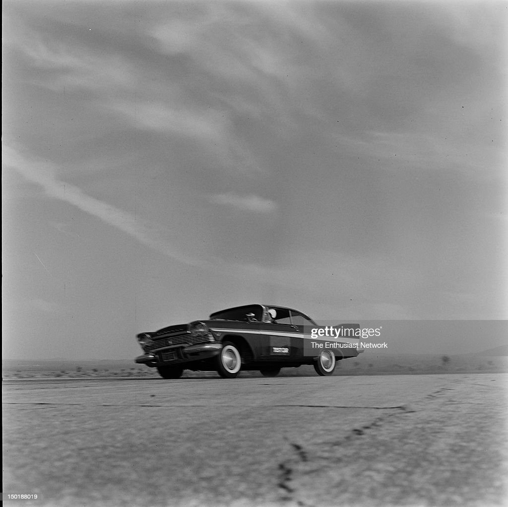 Plymouth Fury Road Test for Hot Rod Magazine, May 1957  High
