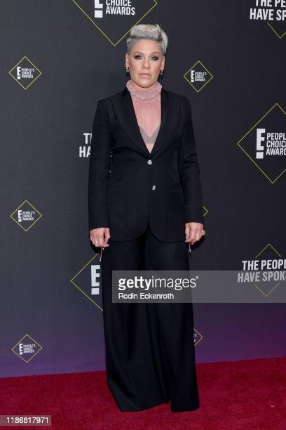 Pnk attends the 2019 E People's Choice Awards at Barker Hangar on November 10 2019 in Santa Monica California