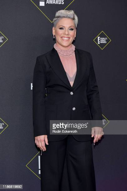 Nk attends the 2019 E! People's Choice Awards at Barker Hangar on November 10, 2019 in Santa Monica, California.