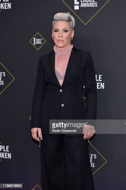 Pnk attends the 2019 E People's Choice Awards at Barker Hangar on November 10 2019 in Santa Monica California