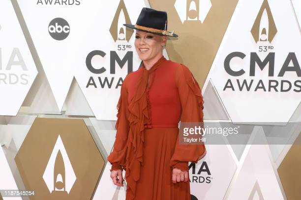 Nk attends the 53nd annual CMA Awards at Bridgestone Arena on November 13, 2019 in Nashville, Tennessee.