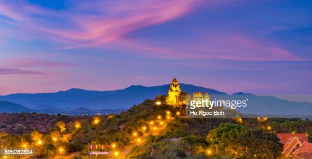 Po Garai Cham temple is a tower located in the medieval principality of Panduranga Cham, Phan Rang City, Ninh Thuan, Vietnam